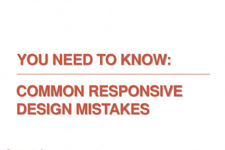 Top 7 Responsive Web Design Mistakes With Their Solutions Infographic