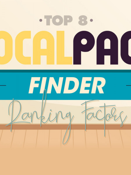 Top 8 Local Pack Finder Ranking Factors Infographic Infographic