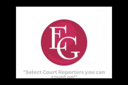 Top advantages of the digital court reporting Infographic