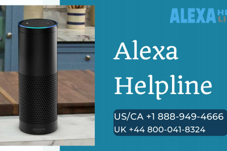 Top Alexa Customer Service Provider – Call +1 888-949-4666 Infographic