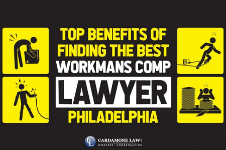 Top Benefits of Finding the Best Workmans comp lawyer Philadelphia Infographic