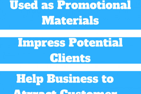 Top Benefits of Using Flyers for Business and Service Infographic