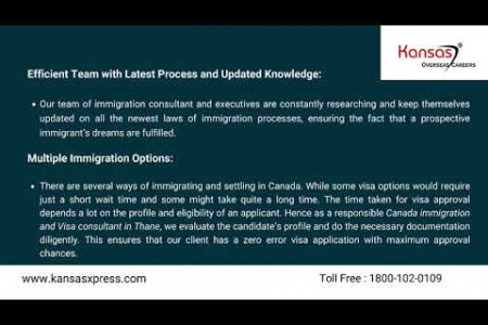 Immigration Consultants in Mumbai for Canada  Infographic