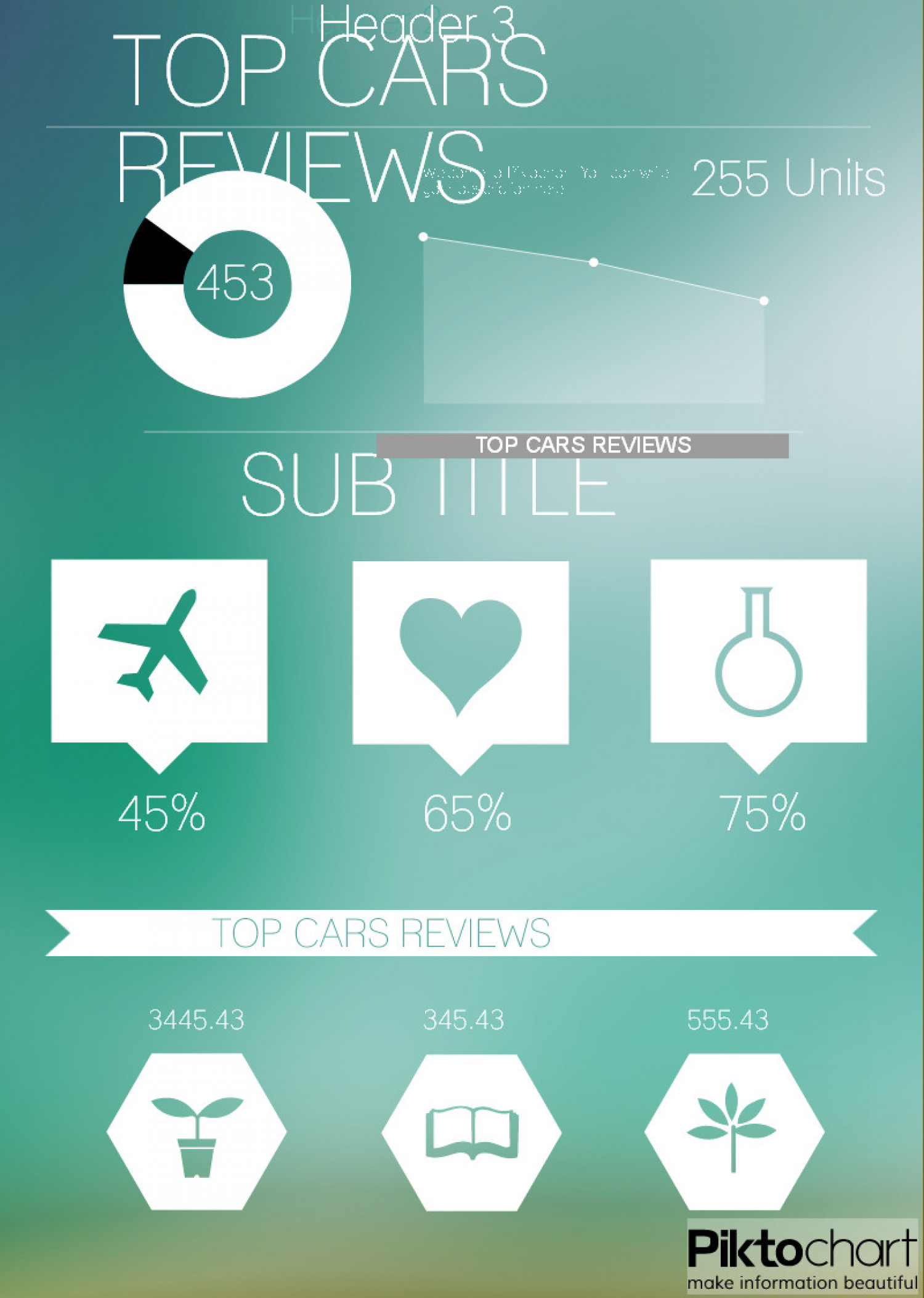 Top Cars Reviews Site Infographic