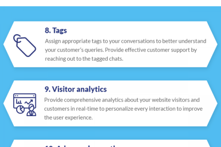Top Criteria for Selecting the Best Live Chat Software Infographic