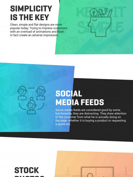 Top Design Tips To Improve Conversion Rates Infographic