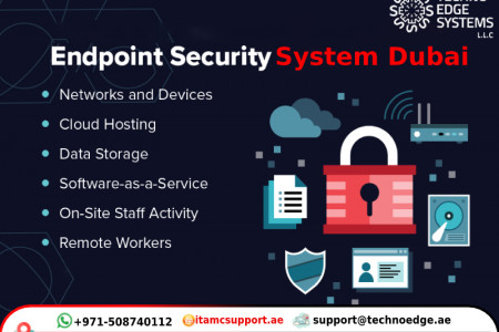 Top Endpoint Security System Software's in Dubai Infographic