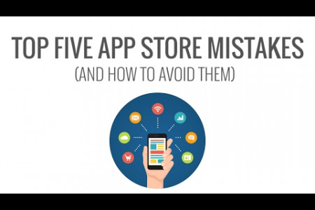 Top Five App Store Mistakes and How to Avoid Them  Infographic