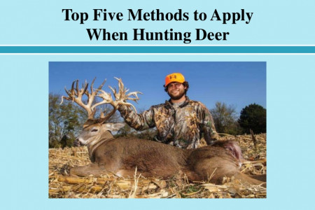 Top Five Methods to Apply When Hunting Deer Infographic
