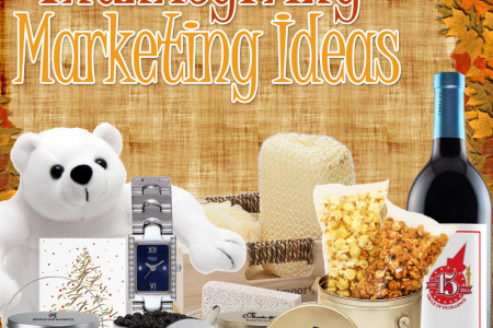 Top Five Thanksgiving Marketing Ideas Infographic