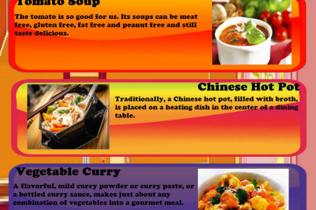 Top Gourmandia Vegetable Soup Recipes Infographic