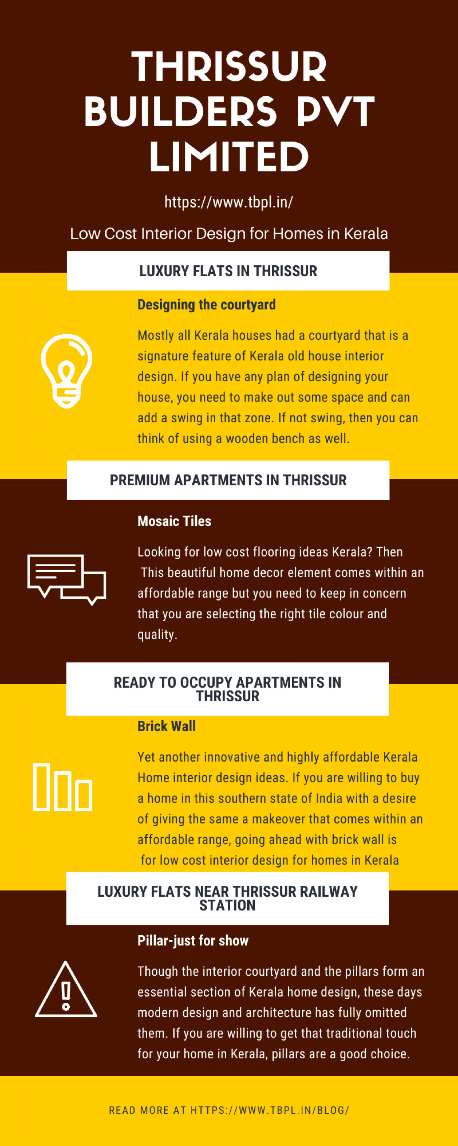 TOP LOW COST INTERIOR DESIGN FOR HOMES IN KERALA Infographic
