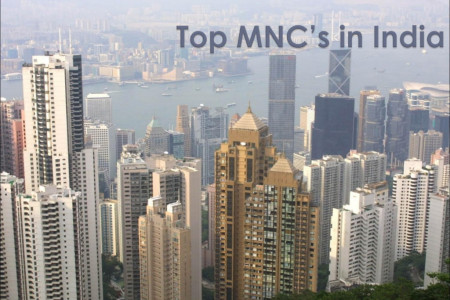 Top MNC's in India Infographic