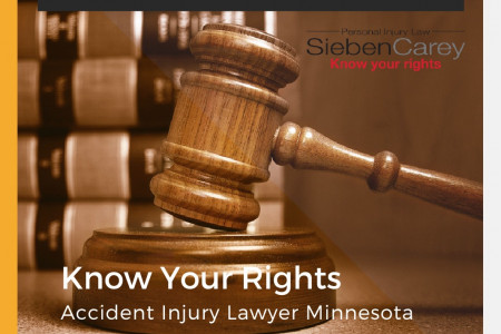 Top Personal Injury Attorney Minnesota – Collect Fee If You Win Infographic