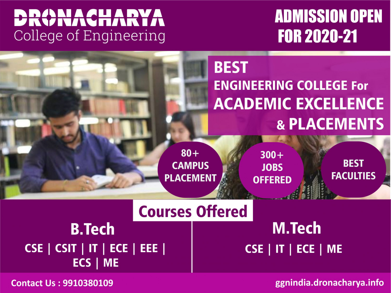 Top Placement Engineering College in Gurgaon_Dronacharya Infographic