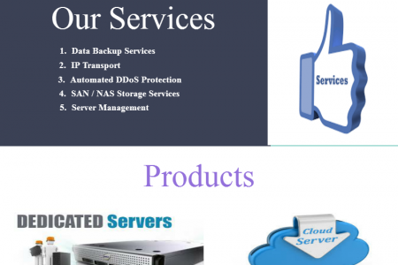 Top Rated Servre Hosting Solutions Infographic