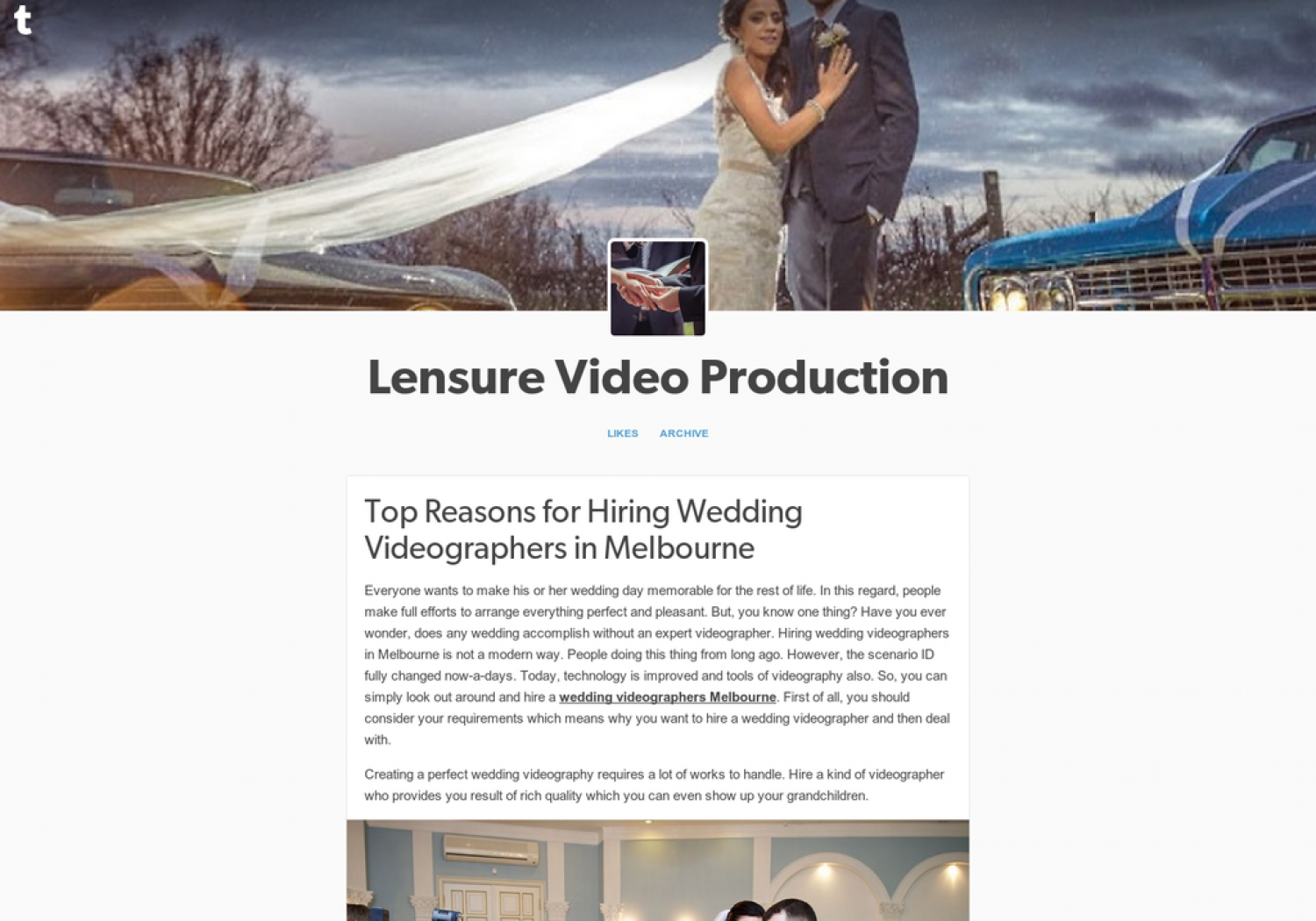 Top Reasons for Hiring Wedding Videographers in Melbourne Infographic