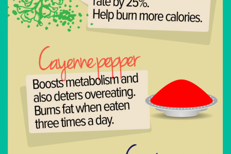 Top Ten Spices for Weight Loss Infographic