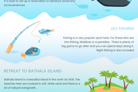 Top Things to See and Do in Maldives  Infographic