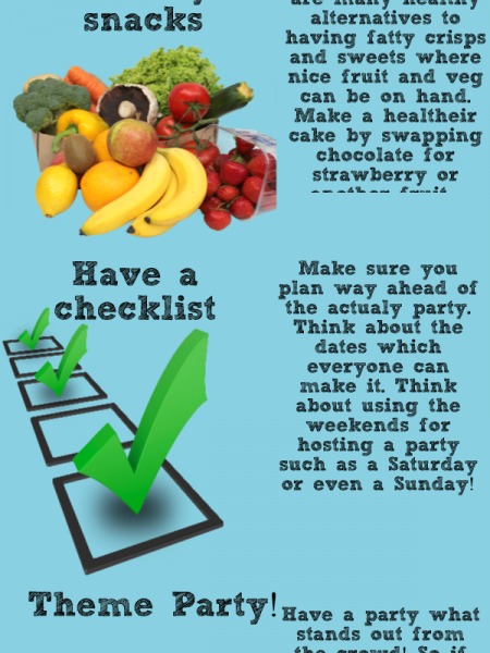 Top Tip for Childrens Parties Infographic