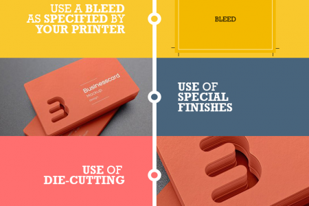Top tips: How to design a business card that will leave an impression Infographic