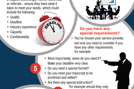 Top Tips: How to Get The Best Out of Your Audio Transcription Needs? Infographic