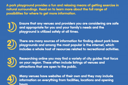 Top Tips On Finding A Park Playground Infographic