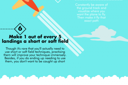 Top Tips To Become A Better Pilot Infographic