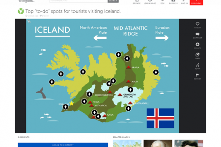Top 'To-Do' Spots in Iceland Infographic