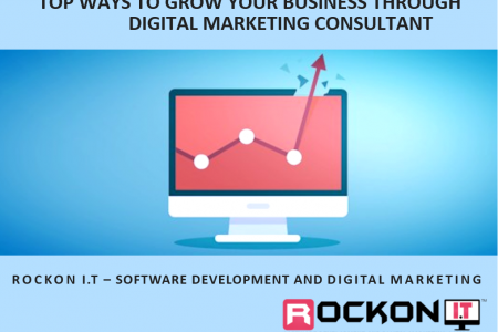 Top Ways to Grow Your Business through Digital Marketing Consultant Infographic