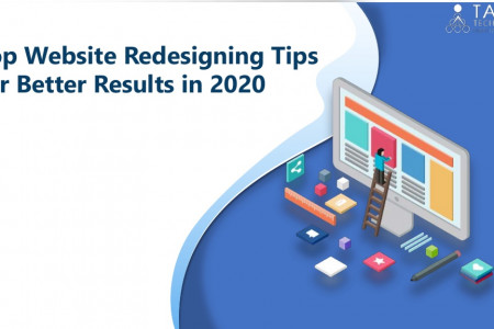 Top Website Redesigning Tips for Better Results in 2020 Infographic