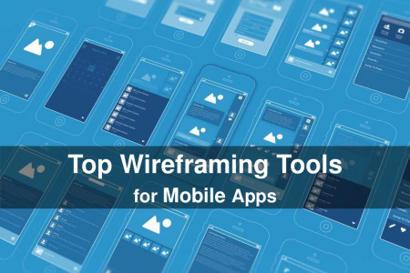 Top wireframing tools for mobile apps Infographic
