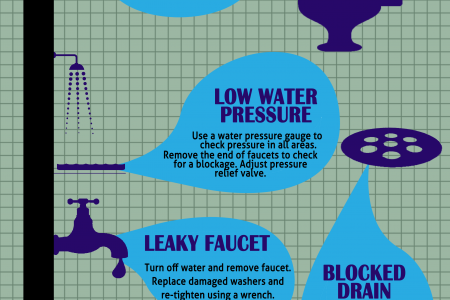 Top5 Plumbing Solutions Infographic