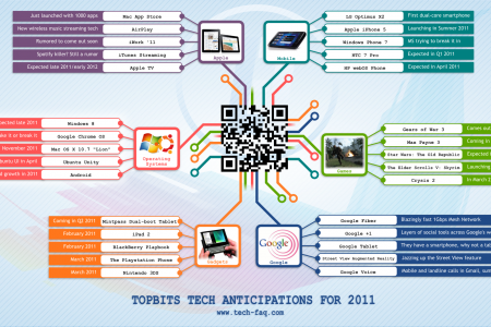 TopBits Tech Anticipations for 2011 Infographic