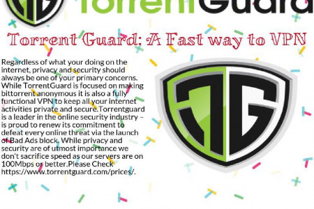 Torrent Guard: A Fast way to VPN Infographic