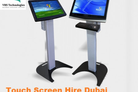Touch Screen Hire Dubai Infographic