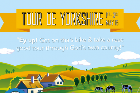 Tour de Yorkshire Infographic