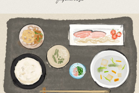 Traditional Japanese Place Setting Infographic