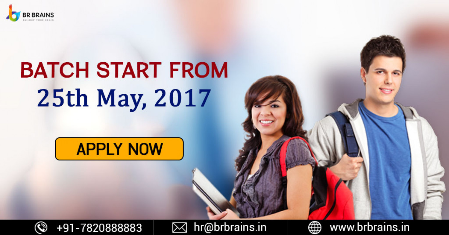 Training Batch Start from 25 May 2017 in Jaipur Infographic