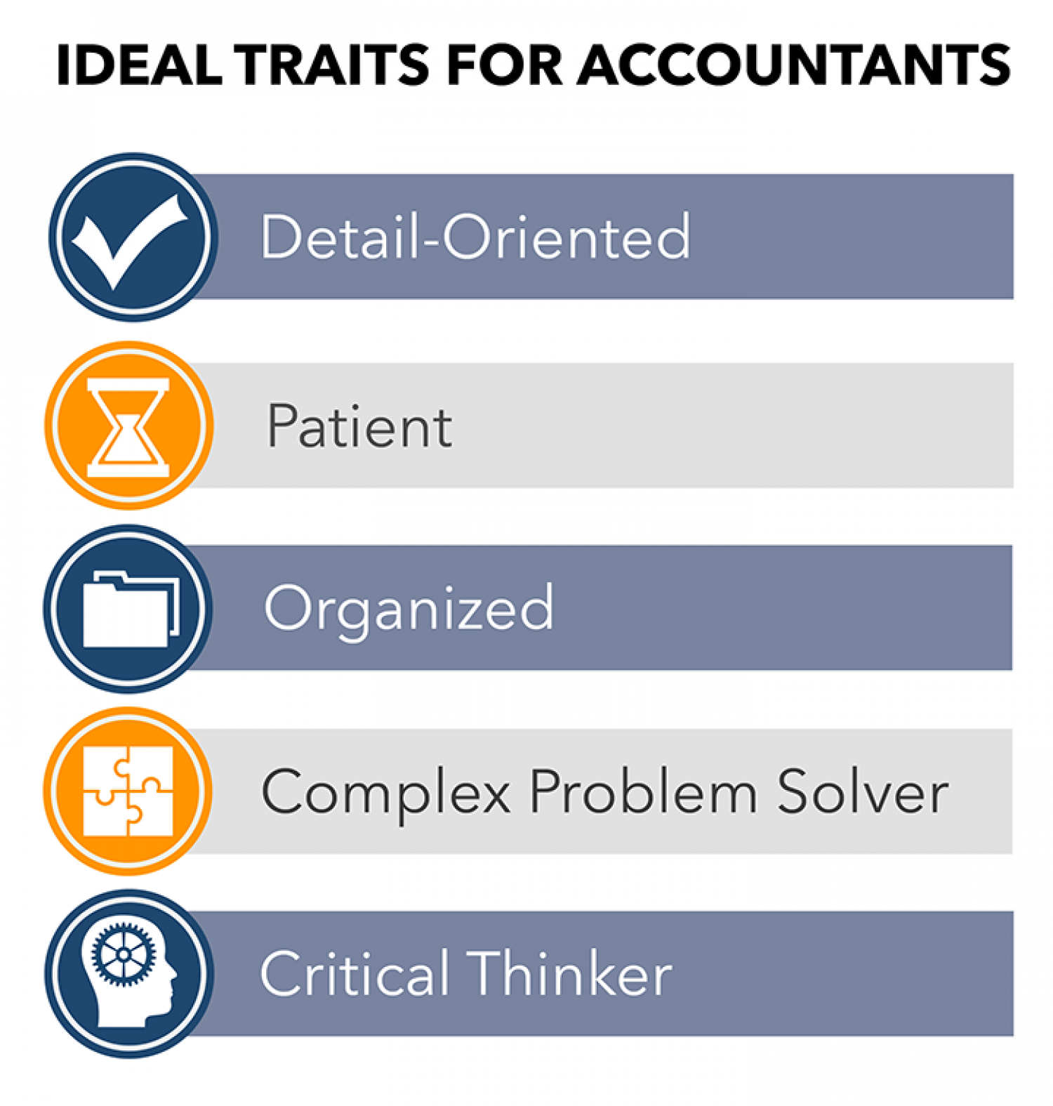 Traits of Accountants Infographic