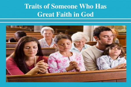 Traits of Someone Who Has Great Faith in God Infographic
