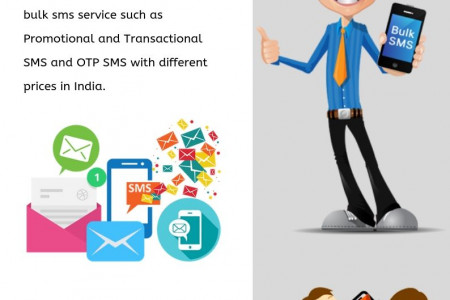 Transactional Bulk SMS Price Mumbai - Text Idea Infographic