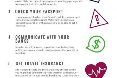 Travel Tips: How To Make Your Next Trip Go As Smoothly As Possible Infographic