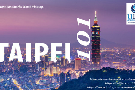Traveling Taipei: Important Landmarks Worth Visiting Infographic
