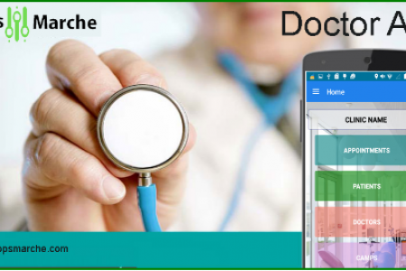 Treat your patients from Appsmarche Doctor App Infographic