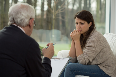 Treatment Center: How Counseling Aids People with Addiction Infographic