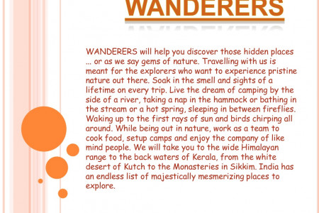 Trekking in India - Wanderers Infographic