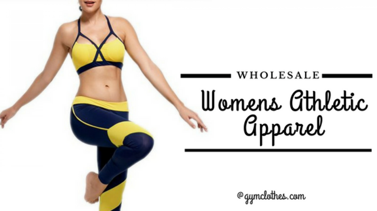 Trendy And Affordable Wholesale Womens Workout Apparel At Gym Clothes Infographic