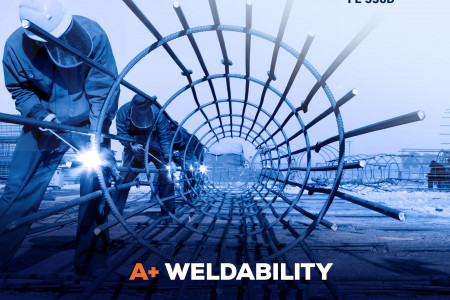 Triam A + TMT bars With A+ Weldibility Infographic