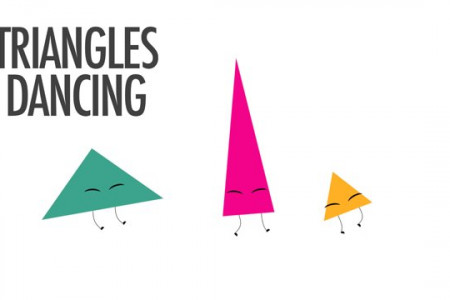 Triangles Dancing Infographic